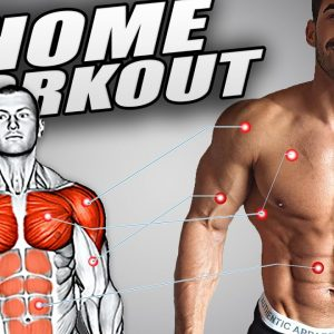 How to Build the Perfect Body At Home 15 Exercises!