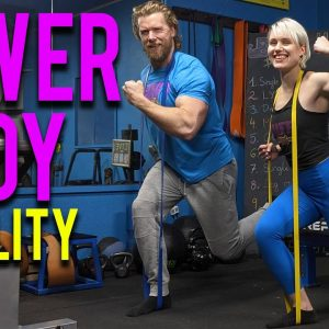 Lower Body Mobility Band Workout | Mobility Band Plan S2D1