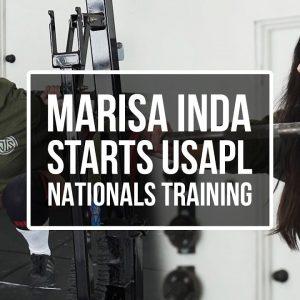 Marisa Inda Starts USAPL Nationals Training | JTSstrength.com