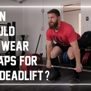 Should Your Wear Straps for the Deadlift? #shorts