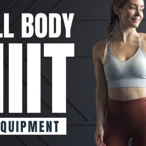 Total Body HIIT Workout // No Equipment