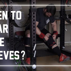 When Should You Wear Knee Sleeves? #shorts