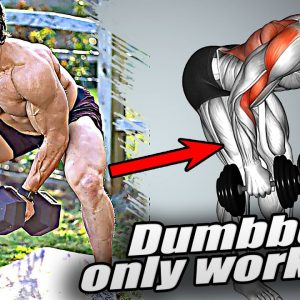 Workout for Muscle Growth (Dumbbells Only)