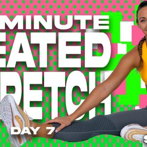 20 Minute Seated Stretch | SHRED - DAY 7