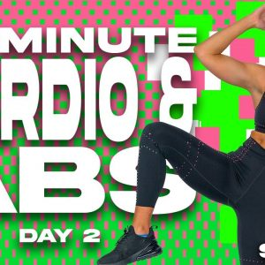 45 Minute Low Impact HIIT Cardio and Abs Workout | SHRED - DAY 2
