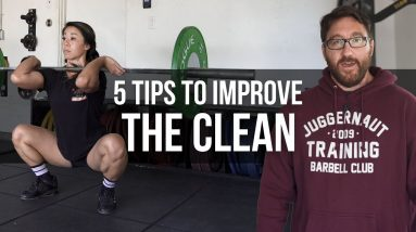 5 Tips Improve Your Clean   JTSstrength.com
