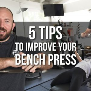 5 Tips To Improve Your Bench Press | JTSstrength.com