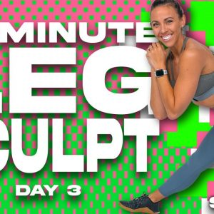 50 Minute Leg Sculpt Workout | SHRED - DAY 3