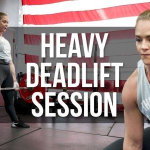 Deadlift Training w/ Kristen Dunsmore