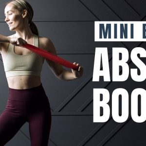 Mini Band ABS & BOOTY Workout