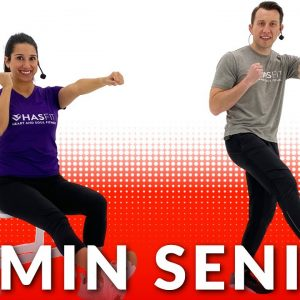 30 Min Senior Exercises at Home - Seniors Chair Exercise & Seated Elderly Workouts for Balance