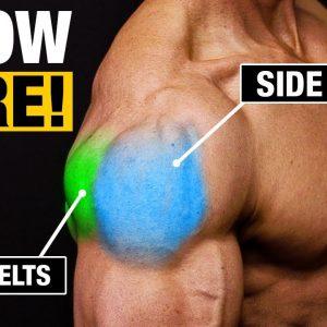 Shoulder Exercise for Bigger Shoulders (SIDE AND REAR DELTS!)