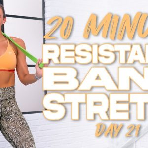 20 Minute Resistance Band Stretch | Summertime Fine - Day 21