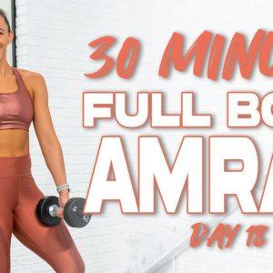 30 Minute Full Body AMRAP Workout | Summertime Fine 3.0 - Day 18