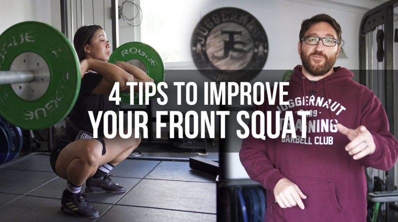 4 Tips to Improve Front Squat | JTSstrength.com