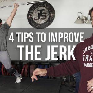 4 Tips to Improve The Jerk | JTSstrength.com