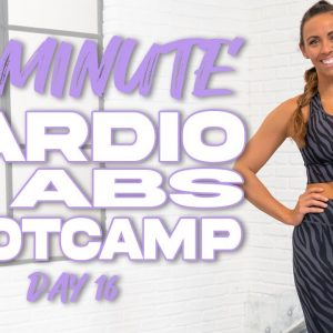 40 Minute Cardio and Abs Bootcamp Workout | Summertime Fine 3.0 - Day 16