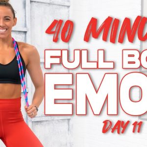 40 Minute Full Body EMOM Workout | Summertime Fine 3.0 - Day 11