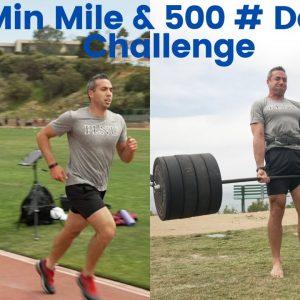 5 Min Mile & 500 Pound Deadlift | Dr. Jacob Goodin