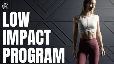 ⭐️ NEW Low Impact Workout Program!!