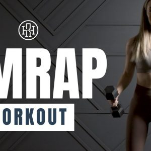 💥 Full Body AMRAP Workout with Weights