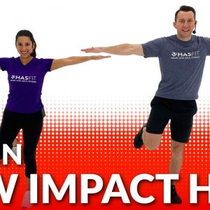 Low Impact HIIT Workout for Beginners - 20 Min Beginner Low Impact Cardio HIIT No Jumping at Home