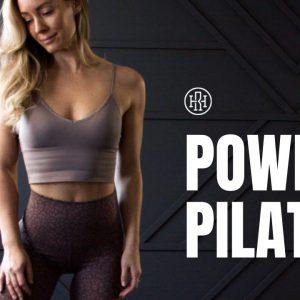 Power Pilates Workout // Pilates HIIT Fusion