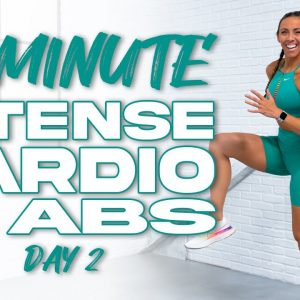 30 Minute Intense Cardio & Abs Workout *No Equipment Needed | Summertime Fine 3.0 - Day 2