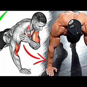 The Best Full Body Home Workout (Chest, Arms, Shoulders, Abs)