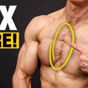 The MIDDLE Chest Solution (GET DEFINED PECS!)