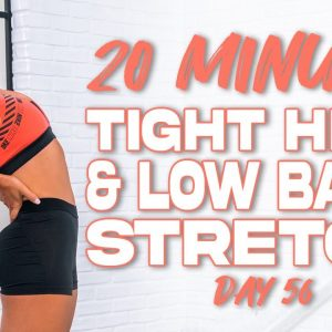 20 Minute Tight Hips and Low Back Stretch | Summertime Fine 3.0 - Day 56
