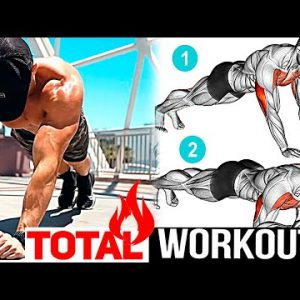 30 minute Bodyweight Workout No Equipment!