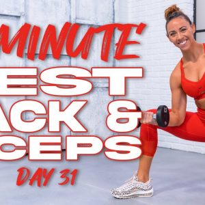 40 Minute BEST Back and Biceps Workout | Summertime Fine 3.0 - Day 31