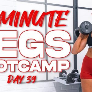 50 Minute Legs Bootcamp Workout | Summertime Fine 3.0 - Day 39