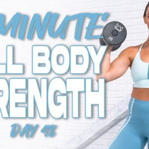 60 Minute Full Body Strength Workout | Summertime Fine 3.0 - Day 48