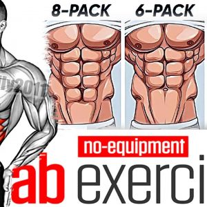 Best 12 ABS Exercises No Equipment!