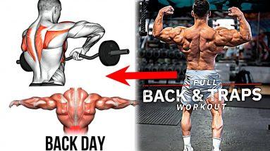 Cobra BACK & Hulk TRAPS Workout (15 Exercises)
