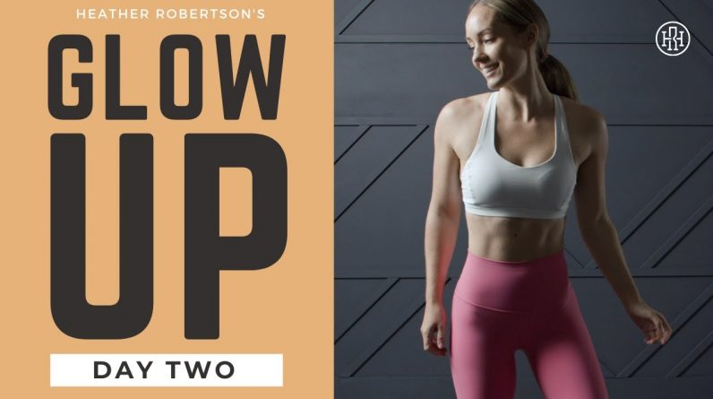 ⭐GLOW UP CHALLENGE // DAY 2: Cardio & Abs Workout