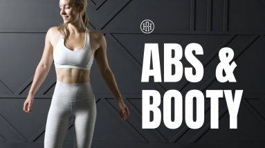 🍑Abs & Booty Workout Finisher // No Repeats, No Equipment