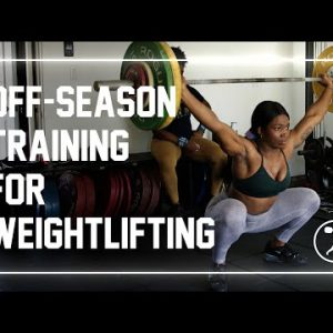 How Should Weightlifters Train in the Off-Season? #shorts