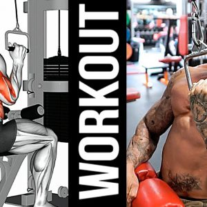 How To Build Your Back Fast (Build Stronger and Bigger lower Lats)