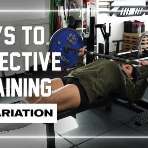 Keys to Effective Training | #5 Variation #shorts