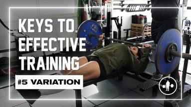 Keys to Effective Training   #5 Variation #shorts