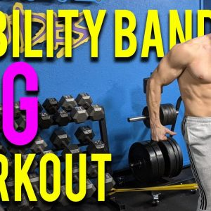 LEGS ONLY MOBILITY BAND WORKOUT | Buff Dudes Mobility Band Workout Plan S2.5/D1