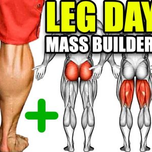 TRY THIS MASS BUILDING LEG WORKOUT!