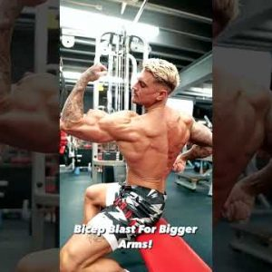 Try This Workout For Bigger Arms!
