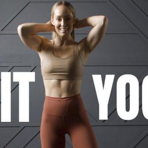 Yoga HIIT Fusion Workout // No Equipment, No Jumping