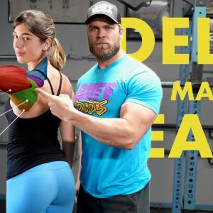 Beginner's Shoulders Workout | Best Exercises for Size, Strength & Stability!