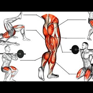 Effective Massive Leg Exercises Thighs, Booty, hamstring,Quadriceps