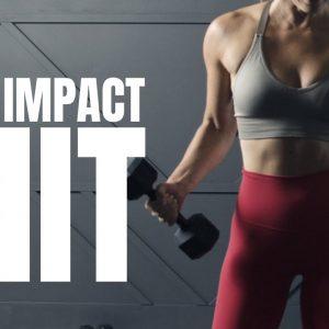 🌟 Low Impact NO REPEATS Total Body HIIT